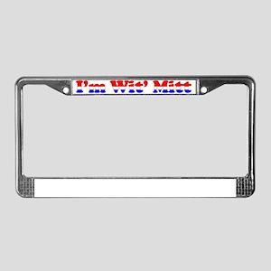 I'm wit mitt License Plate Frame
