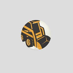 skid steer digger truck Mini Button