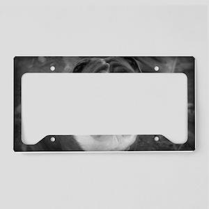 Sebastian B/W License Plate Holder