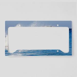 Fijian Wave License Plate Holder