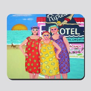 Etsy Cookie Babs Peach Tourist Season Pi Mousepad