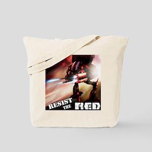 Red Battlenaut Image Cafe Press Tote Bag