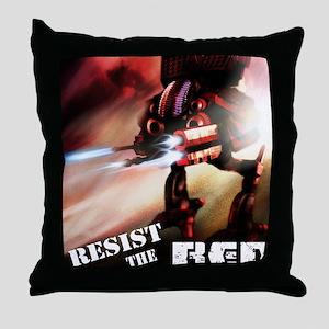 Red Battlenaut Image Cafe Press Throw Pillow