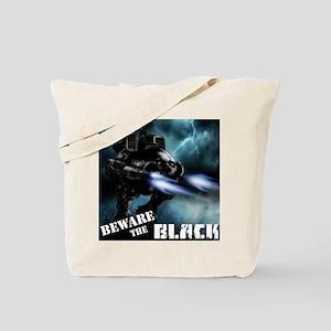 Black Battlenaut Tote Bag