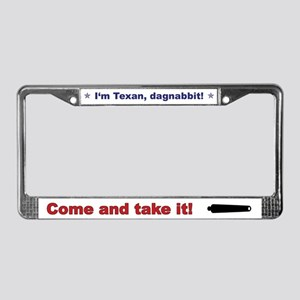 Dagnabbit License Plate Frame