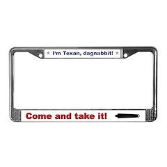 Dagnabbit License Plate Frame