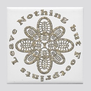 Leave Nothing Boot Stone Tile Coaster