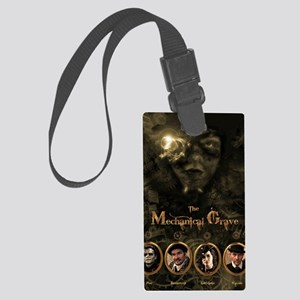 The Mechanical Grave Poster Large Luggage Tag