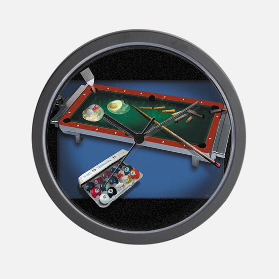 Billiard Eggs Wall Clock