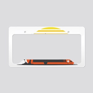 California Streamin License Plate Holder