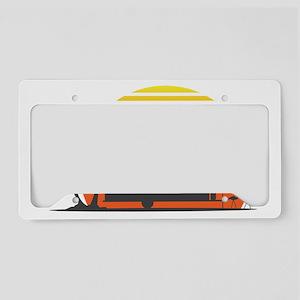 California Streamin License Plate Holder