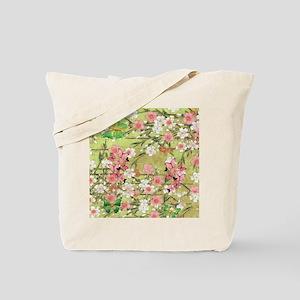 .::MoonDreams::. Pink Green Butterflies B Tote Bag