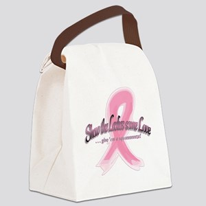 Squeeeeze Tank - Front Canvas Lunch Bag