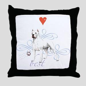 dogo T1-K Throw Pillow