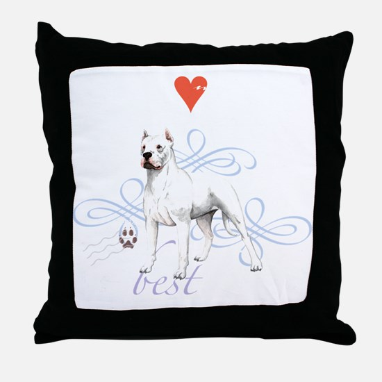 dogo T1-K Throw Pillow