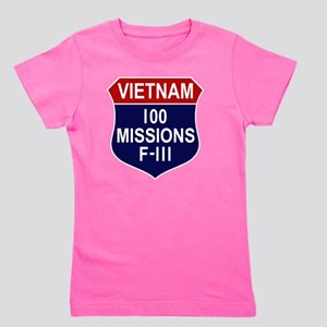 100 MISSIONS - F-111 Girl's Tee