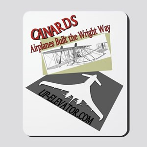 Canards the Wright Way Mousepad