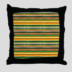 etnic1 Throw Pillow