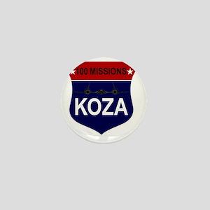 SR-71 - 100 Missions - KOZA Mini Button