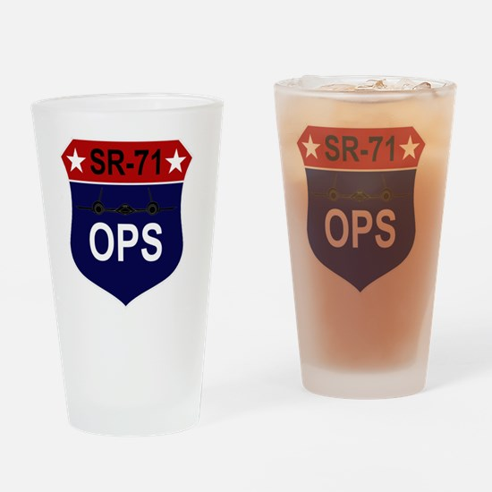 SR-71 - OPS Drinking Glass