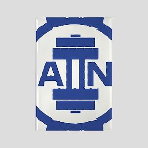 GAIINS Cog Logo Blue Rectangle Magnet