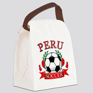 PERU Canvas Lunch Bag