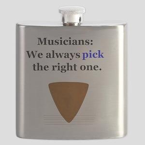 Musicians Pick Flask