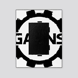 GAIINS Cog Logo Black Picture Frame