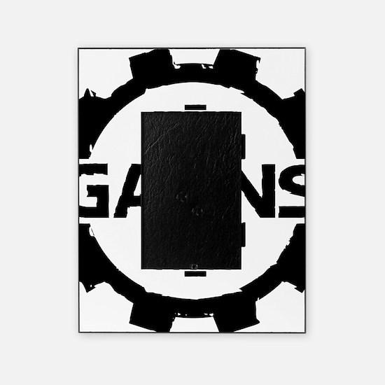 GAIINS Cog Logo Black Picture Frame
