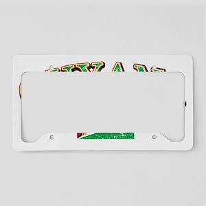 guyana License Plate Holder
