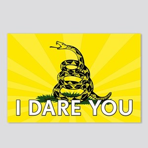 I DARE YOU to tread on Me Postcards (Package of 8)