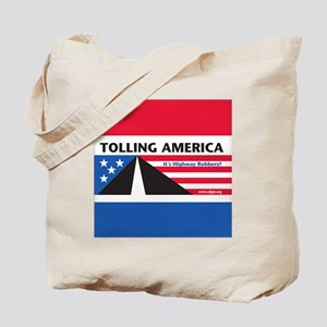 SF_TollAmericaBlue_Throw11x11_052512 Tote Bag