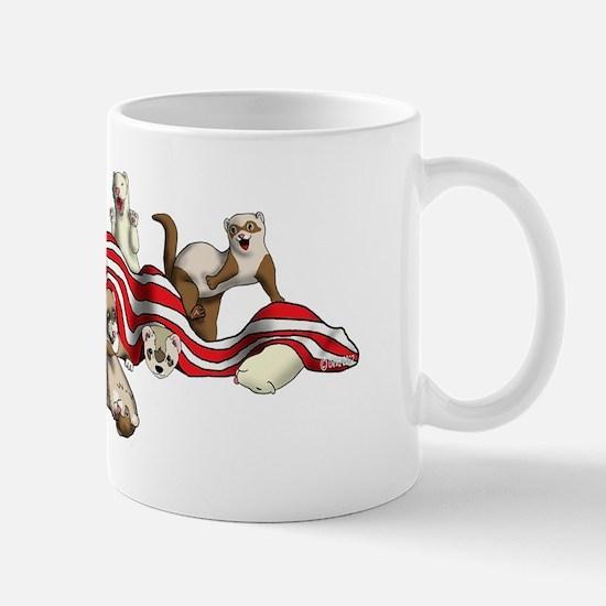 Flag Hideout black Mug