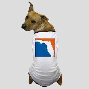 Florida Colors (Gators) Dog T-Shirt