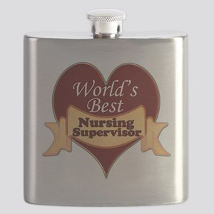 Worlds Best Nursing Supervisor Flask