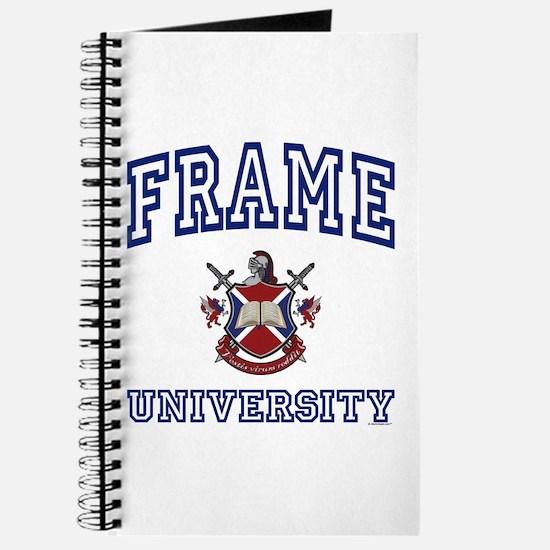 FRAME University Journal