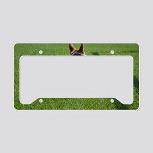 Corgi Butt License Plate Holder