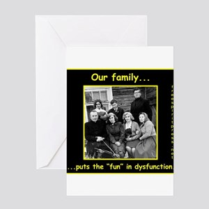 Dysfunctional families greeting cards cafepress dysfunctional family greeting cards m4hsunfo
