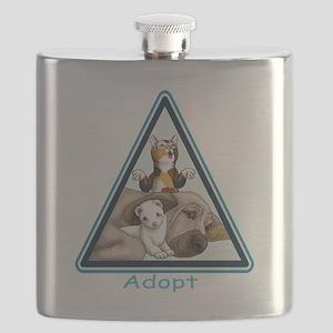 Adopt Animals Flask