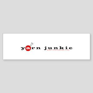 Yarn Junkie Bumper Sticker