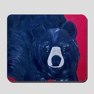 Big Black Bear Mousepad