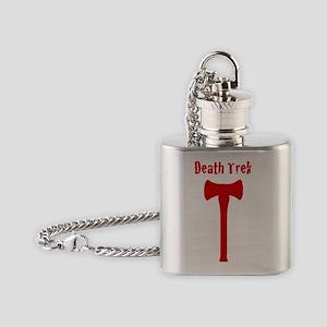 Death Trek Axe No Background Flask Necklace