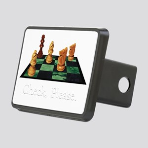 Check Please Rectangular Hitch Cover