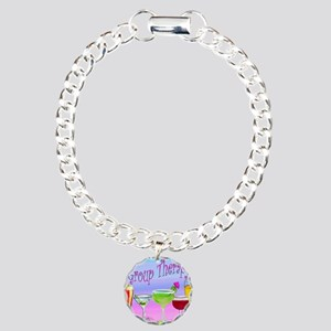 Group Therapy Charm Bracelet, One Charm
