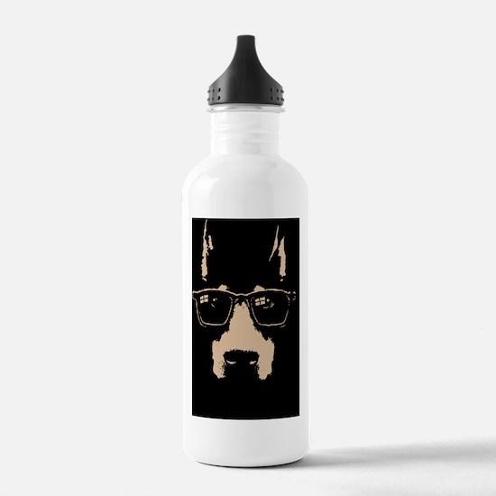 dobe-glasses-BUT Water Bottle
