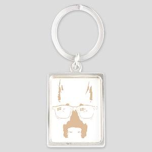 dobe-glasses-DKT Portrait Keychain