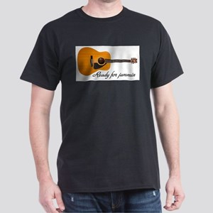 ready for jammin acoustic guitar Dark T-Shirt