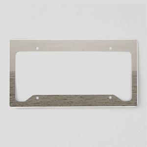 hjellison large framed print License Plate Holder