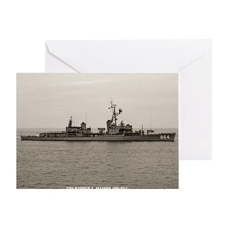 hjellison framed panel print Greeting Card