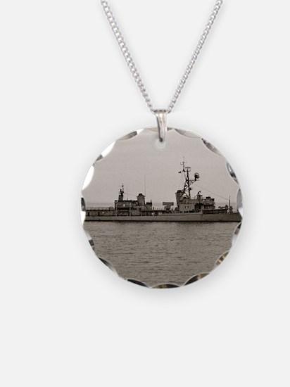 hjellison framed panel print Necklace Circle Charm